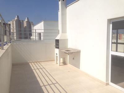 Cobertura Duplex 3 Dormitórios Com Suíte, Churrasqueira 2 Vg