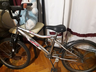 Bicicleta Viper Rod 20 Gris Plata