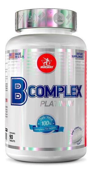 Multivitaminico B Complex - 90 Cápsulas - Midway