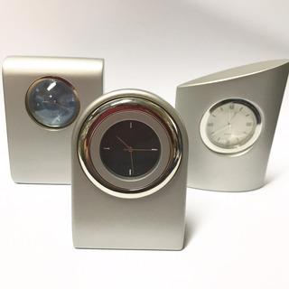 Reloj Analogo De Escritorio De Metal 3 Modelos