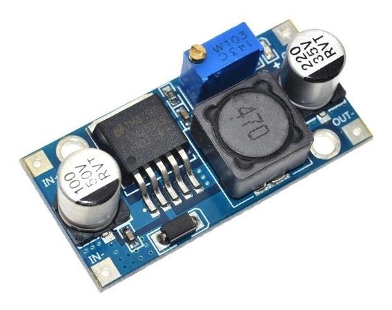 Regulador De Tensão Auto Step-up-down Lm2596 Dc-dc