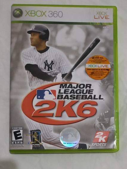 Jogo Major League Baseball 2k6 Xbox 360