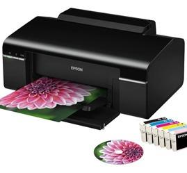 Imagem 1 de 1 de Impressora Epson Stylus Photo T50 Cd/ Dvds Revisada Garantia