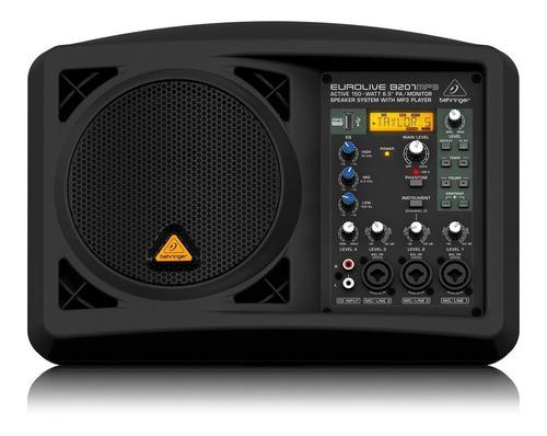 Parlante Amplificado Behringer Eurolive B207mp3 + Garantía
