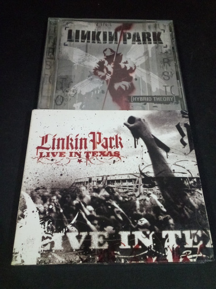 Linkn Park Live In Texas Hybrid Theory Nu Metal Cd/dvd