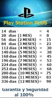 Psn Plus Por 14 Dias S/.4