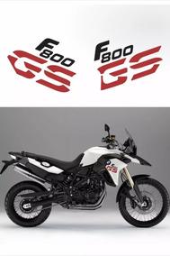 Kit Adesivo Emblema Bmw F800gs 2013 - 2014 Branca