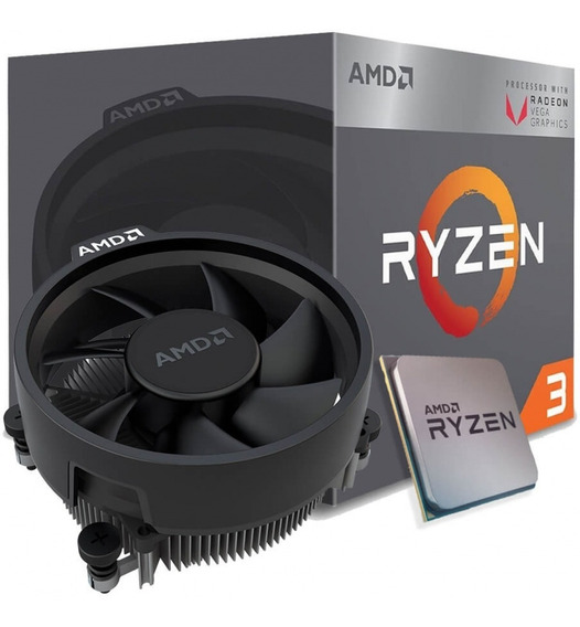 Processador Amd Ryzen 3 2200g Vega 8 Yd2200c5fbbox Cache 6mb