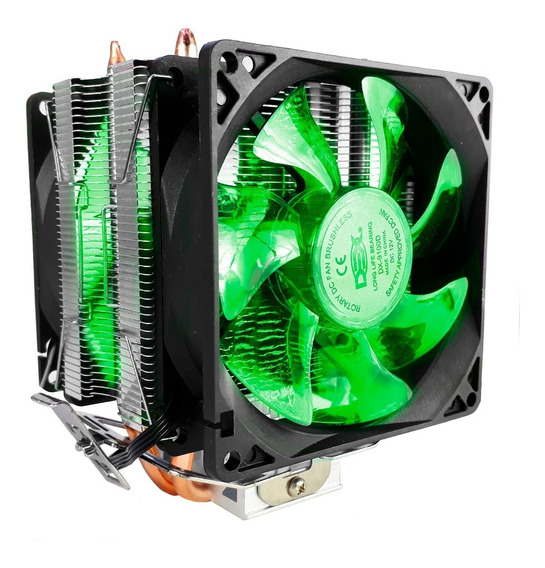 Cooler Duplo Dual Fan Pc Intel Amd 775 1151 1155 Am3+ Am4