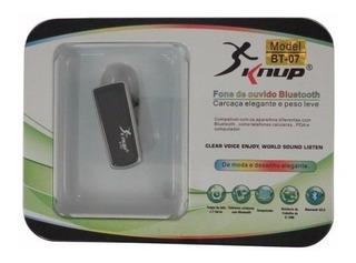 Fone De Ouvido Bluetooth Knup Bt-07