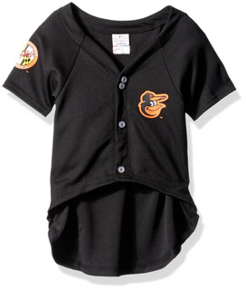 Pets First Mlb Baltimore Orioles Dog Jersey, Large. - Pro Te