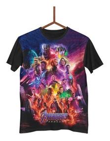 Camisa Camiseta Avengers Endgame Vingadores Ultimato G0143