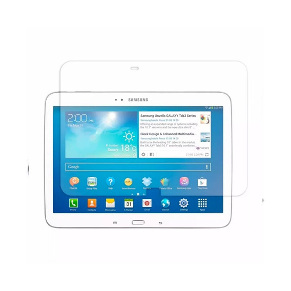 Pelicula De Protecao Galaxy Tab3 10
