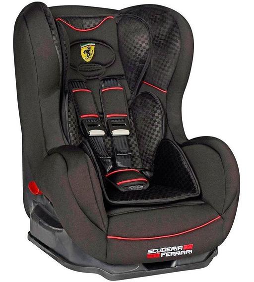 Cadeira Cadeirinha Para Carro Ferrari Reclinavel Black 25 Kg