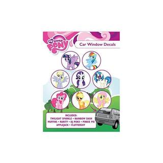 My Little Pony St Mlpfam Pack1 Etiqueta Para Ventana De Coch
