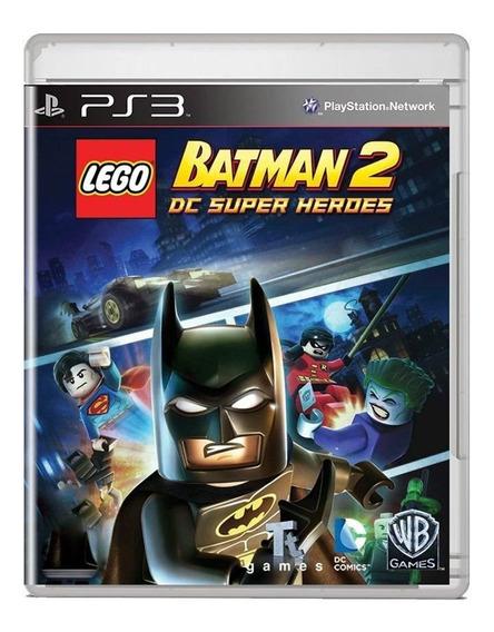 Lego Batman 2 Dc Super Heroes Ps3 Midia Fisica