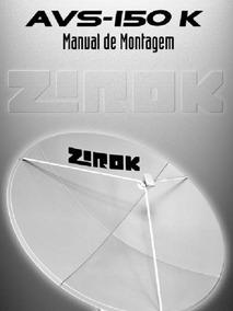 Antena Zirok 1,50m (depende Da Região) Promoção 390 Por 247