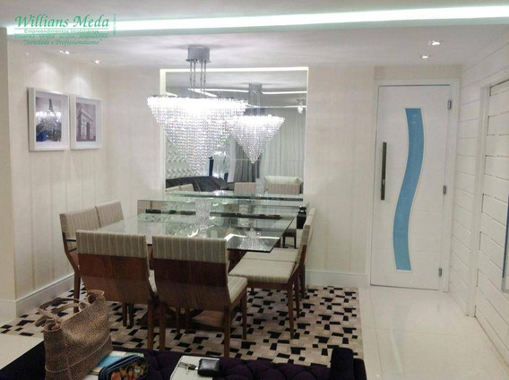 Apartamento Com 3 Dormitórios À Venda, 128 M² Por R$ 1.050.000 - Bosque Maia - Guarulhos/sp - Ap2161
