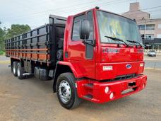 Ford Cargo 2428 Truck 6x2 Carroceria Graneleiro Graneleira
