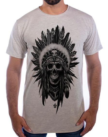 Camiseta Camisa Blusa Longline Sioux Swag Oversized Alongada