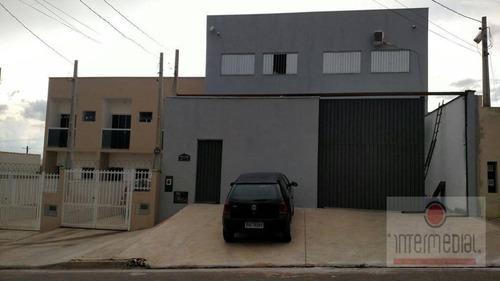 Imagem 1 de 26 de Barracão À Venda, 300 M² Por R$ 600.000,00 - Parque São Bento - Sorocaba/sp - Ba0018