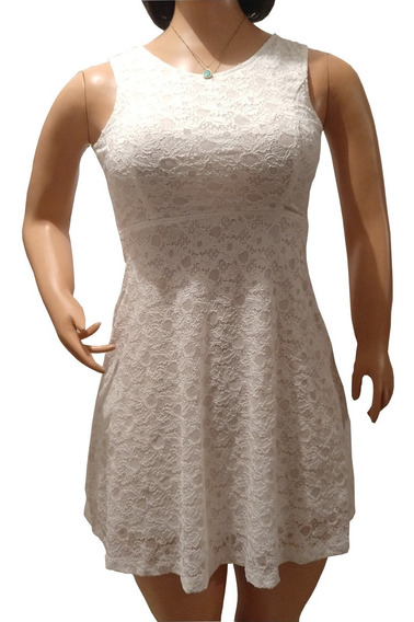 Vestido Blanco Talla L