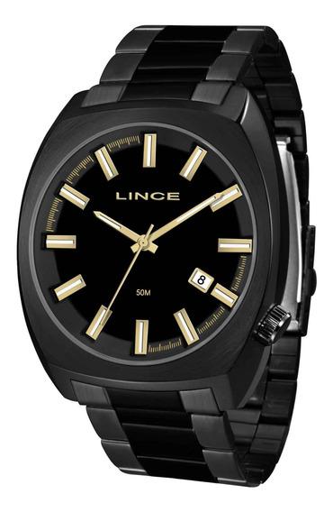 Relógio Lince Masculino Mrn4584s P1px Preto - Refinado