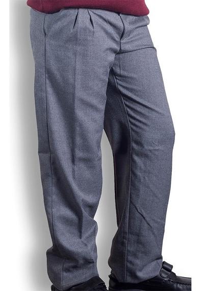 Pantalon De Sarga Colegial Azzurra - Talles De Niño
