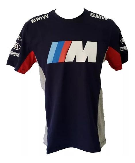 Camisa Bmw M Performance Camiseta Algodão Ref.235