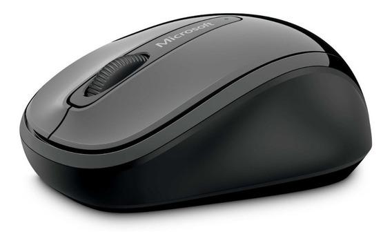 Mouse Optico Inalambrico Usb Microsoft Mobile 3500 Gris Blue