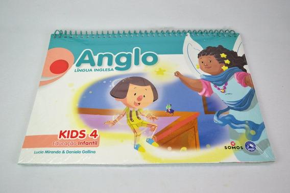 Apostila Anglo Língua Inglesa Kids 4 Educacao Infantil