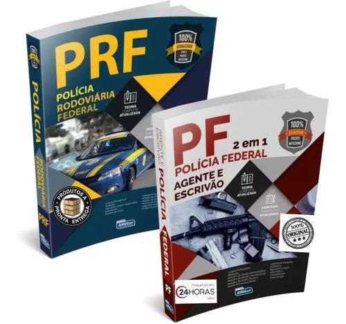 Apostila Pf Agente E Escrivão + Prf - Ed. Alfacon