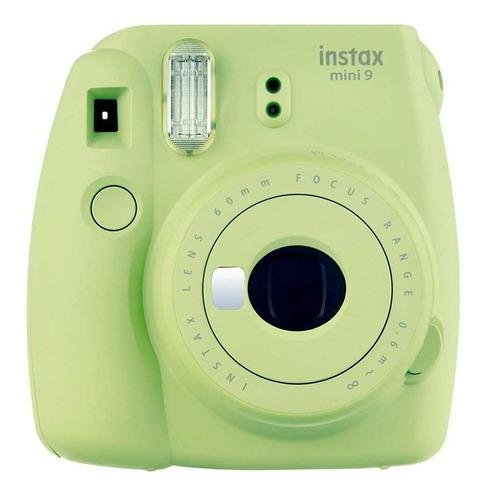 Câmera instantânea Fujifilm Instax Mini 9 lime green