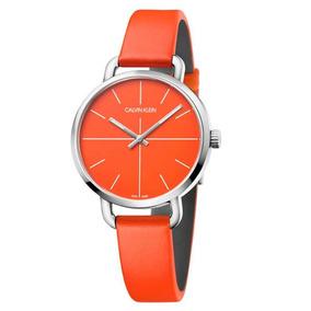 8bd37cf2b181 Reloj Calvin Klein Naranja - Relojes en Mercado Libre México