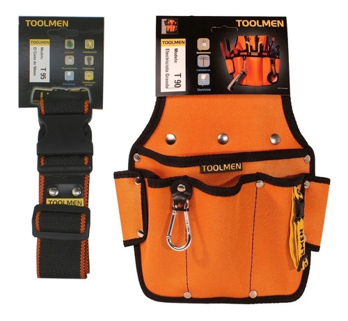 Imagen 1 de 6 de Toolmen T90 Cartuchera Portaherramientas Con Cinturon T95