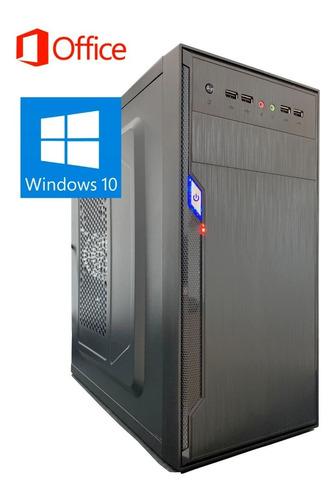 Imagem 1 de 3 de Pc Computador Cpu Core2duo 8400 + Ssd 120gb+ 4gb Memória Ram