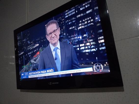 Tv Buster 32 Pol Perfeita C/conversor Possui Suporte/pezinho