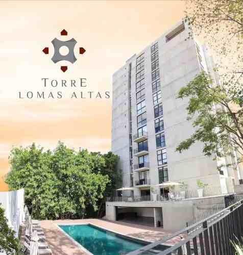 Hermoso Penthouse Con Excelentes Acabados En Torre Exlusiva De Lomas Altas