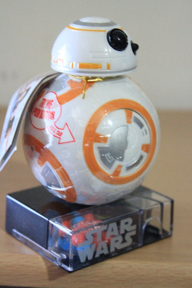 Dispensador De Caramelos Bb-8 Star Wars Original 11.5ctm