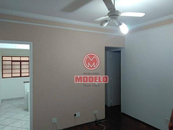 Apartamento Com 2 Dormitórios Para Alugar, 58 M² Por R$ 550/mês - Nova América - Piracicaba/sp - Ap2617