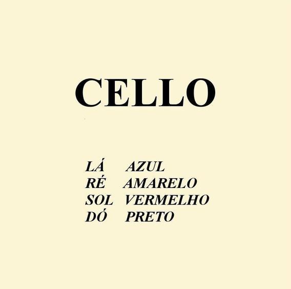 Encordoamento Mauro Calixto Para Violoncelo - Cello