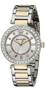 Reloj De Acero De Dos Tonos Juicy Couture 1901322 Cali