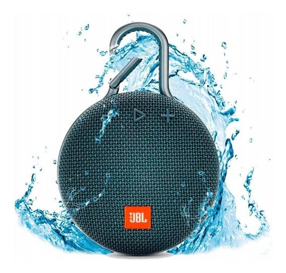 Caixa Jbl Clip 3 Portátil Bluetooth Prova D