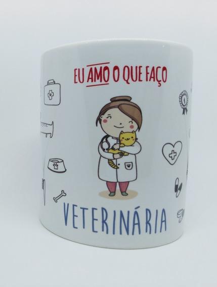 Caneca Personalizada Profissão Médica Medicina Veterinária