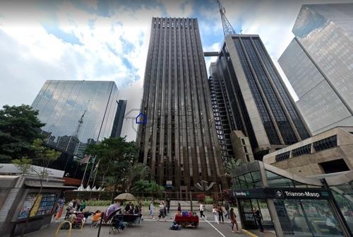 Conjunto Comercial Na Av. Paulista Para Locação, 1.000 M², 10 Vagas - Cj0243at