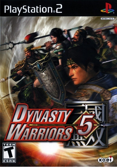 Jogo Ps2 Dynasty Warriors 5 Leia O Anúncio -c59-