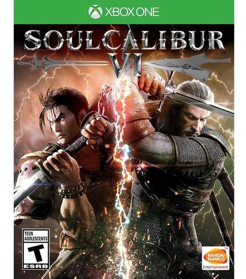 Soulcalibur Vi Xbox One Mídia Física Novo Lacrado Original