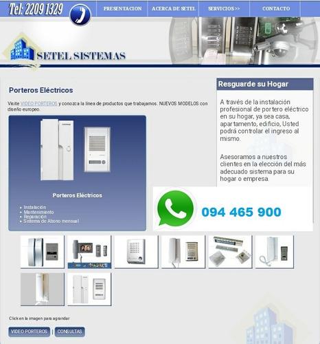 Instalación Y Reparación Total Porteros Eléctricos Y Video