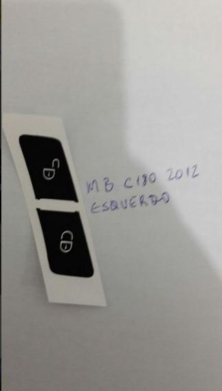 Adesivo Botão Trava Ld Esq. Direit Mercedes Benz C180 C200