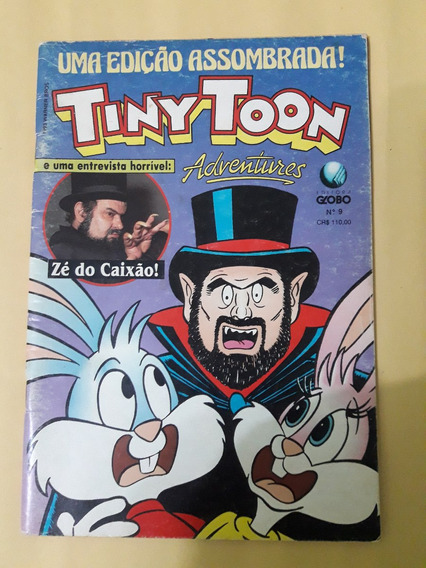 Revista Em Quadrinhos Tiny Toon Adventures - N° 09 Ano 1993